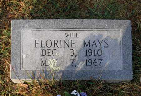 MAYS, FLORINE - Lawrence County, Arkansas | FLORINE MAYS - Arkansas Gravestone Photos