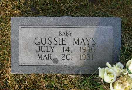 MAYS, GUSSIE - Lawrence County, Arkansas   GUSSIE MAYS - Arkansas Gravestone Photos