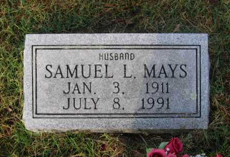 MAYS, SAMUEL LINDSAY - Lawrence County, Arkansas | SAMUEL LINDSAY MAYS - Arkansas Gravestone Photos