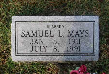 MAYS, SAMUEL LINDSAY - Lawrence County, Arkansas   SAMUEL LINDSAY MAYS - Arkansas Gravestone Photos