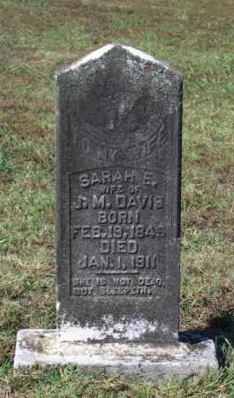 MCALISTER, SARAH E. - Lawrence County, Arkansas   SARAH E. MCALISTER - Arkansas Gravestone Photos