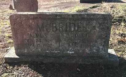 MCBRIDE, PAUL H. - Lawrence County, Arkansas   PAUL H. MCBRIDE - Arkansas Gravestone Photos