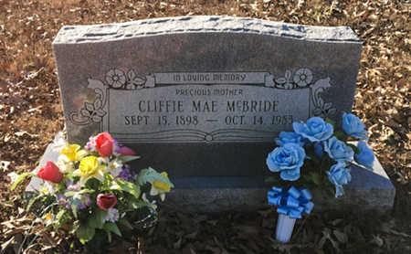 ANDERSON MCBRIDE, CLIFFIE MAE - Lawrence County, Arkansas   CLIFFIE MAE ANDERSON MCBRIDE - Arkansas Gravestone Photos