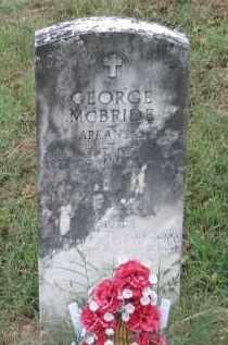 MCBRIDE (VETERAN WWI), GEORGE - Lawrence County, Arkansas | GEORGE MCBRIDE (VETERAN WWI) - Arkansas Gravestone Photos