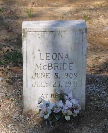 MCBRIDE, LEONA - Lawrence County, Arkansas | LEONA MCBRIDE - Arkansas Gravestone Photos