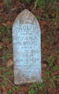 MCBRIDE, PAUL H. - Lawrence County, Arkansas | PAUL H. MCBRIDE - Arkansas Gravestone Photos