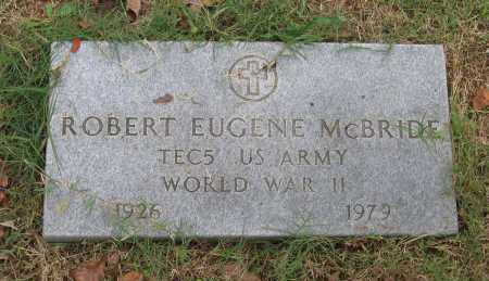 MCBRIDE (VETERAN WWII), ROBERT EUGENE - Lawrence County, Arkansas | ROBERT EUGENE MCBRIDE (VETERAN WWII) - Arkansas Gravestone Photos