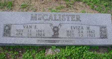 SNIDER MCCALISTER, EVIZA MARIAH - Lawrence County, Arkansas | EVIZA MARIAH SNIDER MCCALISTER - Arkansas Gravestone Photos