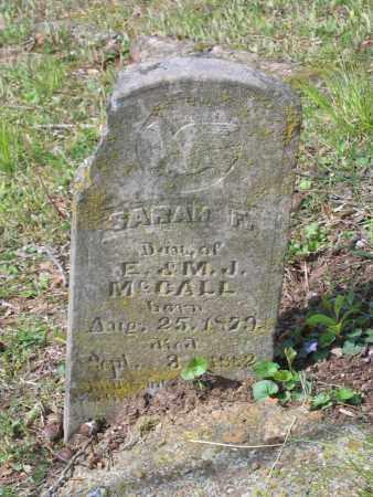 MCCALL, SARAH F - Lawrence County, Arkansas   SARAH F MCCALL - Arkansas Gravestone Photos