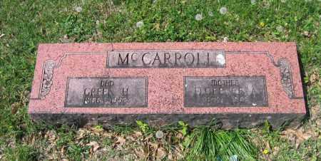 MCCARROLL, FLORENCE A. - Lawrence County, Arkansas | FLORENCE A. MCCARROLL - Arkansas Gravestone Photos