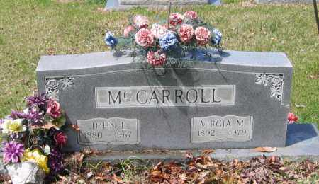 "WARD MCCARROLL, VIRGINIA MAE ""VIRGIA"" - Lawrence County, Arkansas 