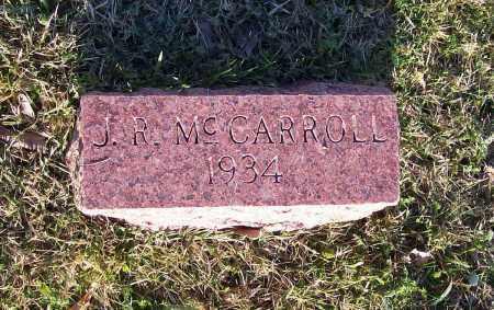MCCARROLL, JOSEPH ROLAND - Lawrence County, Arkansas   JOSEPH ROLAND MCCARROLL - Arkansas Gravestone Photos