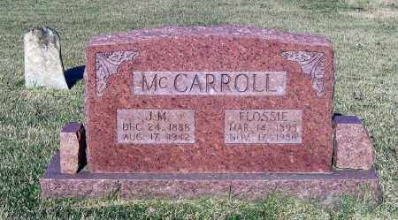 MCCARROLL, FLOSSIE BELLE - Lawrence County, Arkansas | FLOSSIE BELLE MCCARROLL - Arkansas Gravestone Photos