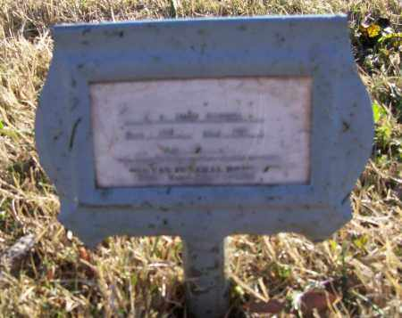 "MCCARROLL, MARION WASHINGTON ""BABE"" - Lawrence County, Arkansas | MARION WASHINGTON ""BABE"" MCCARROLL - Arkansas Gravestone Photos"