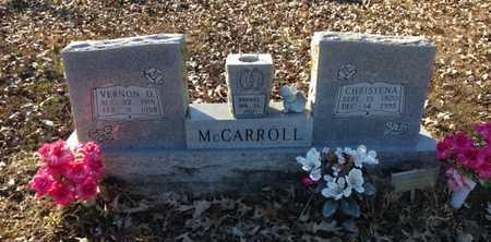 MCBRIDE MCCARROLL, BEULAH CHRISTENA - Lawrence County, Arkansas | BEULAH CHRISTENA MCBRIDE MCCARROLL - Arkansas Gravestone Photos