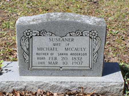 MCCAULY, SUSEANER - Lawrence County, Arkansas | SUSEANER MCCAULY - Arkansas Gravestone Photos