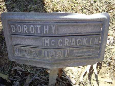 MCCRACKIN, DOROTHA REBECCA - Lawrence County, Arkansas   DOROTHA REBECCA MCCRACKIN - Arkansas Gravestone Photos