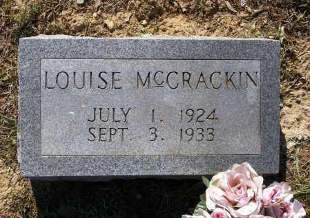MCCRACKIN, LOUISE - Lawrence County, Arkansas   LOUISE MCCRACKIN - Arkansas Gravestone Photos