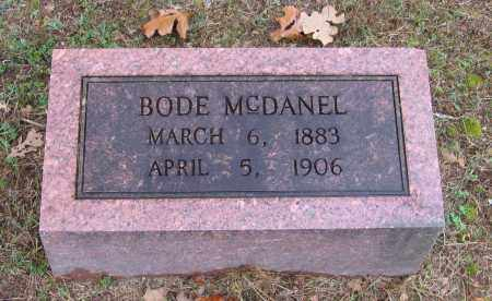 MCDANEL, BODE - Lawrence County, Arkansas | BODE MCDANEL - Arkansas Gravestone Photos