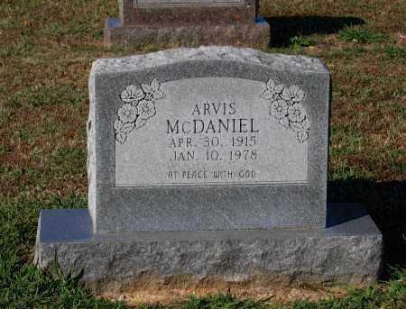 MCDANIEL, ARVIS - Lawrence County, Arkansas | ARVIS MCDANIEL - Arkansas Gravestone Photos