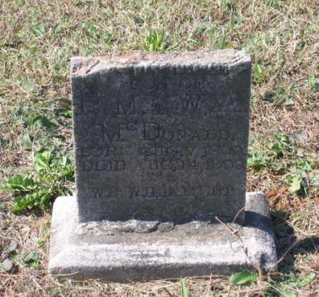 MCDONALD, C. GUTHRIE - Lawrence County, Arkansas | C. GUTHRIE MCDONALD - Arkansas Gravestone Photos