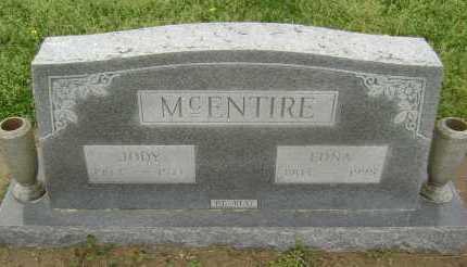 MCENTIRE, EDNA - Lawrence County, Arkansas | EDNA MCENTIRE - Arkansas Gravestone Photos