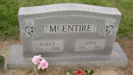MCENTIRE, EUNICE - Lawrence County, Arkansas | EUNICE MCENTIRE - Arkansas Gravestone Photos