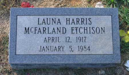 HARRIS MCFARLAND, LAUNA - Lawrence County, Arkansas | LAUNA HARRIS MCFARLAND - Arkansas Gravestone Photos