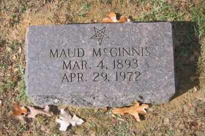 MCGINNIS (2), MAUD - Lawrence County, Arkansas | MAUD MCGINNIS (2) - Arkansas Gravestone Photos