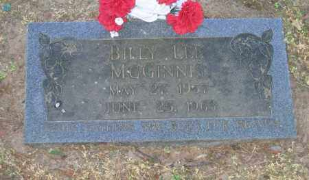 MCGINNIS, BILLY LEE - Lawrence County, Arkansas | BILLY LEE MCGINNIS - Arkansas Gravestone Photos