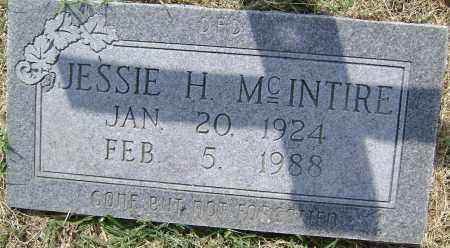 MCINTIRE, JESSIE H. - Lawrence County, Arkansas | JESSIE H. MCINTIRE - Arkansas Gravestone Photos