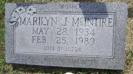 MCINTIRE, MARILYN J. - Lawrence County, Arkansas   MARILYN J. MCINTIRE - Arkansas Gravestone Photos