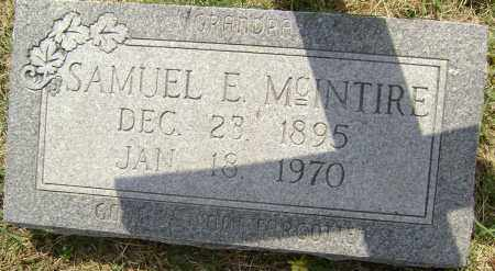 MCINTIRE, SAMUEL EDWARD - Lawrence County, Arkansas | SAMUEL EDWARD MCINTIRE - Arkansas Gravestone Photos