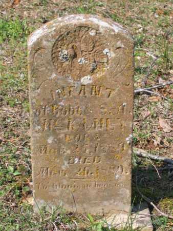 MCKAMEY, INFANT - Lawrence County, Arkansas | INFANT MCKAMEY - Arkansas Gravestone Photos