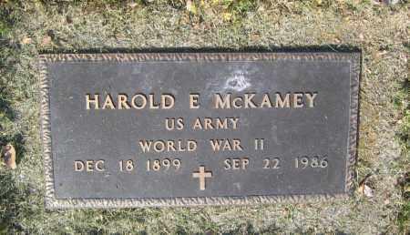 MCKAMEY (VETERAN WWII), HAROLD EUGENE - Lawrence County, Arkansas   HAROLD EUGENE MCKAMEY (VETERAN WWII) - Arkansas Gravestone Photos
