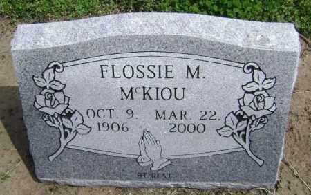 MCKIOU, FLOSSIE M. - Lawrence County, Arkansas | FLOSSIE M. MCKIOU - Arkansas Gravestone Photos