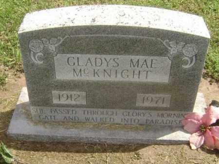 GOFF MCKNIGHT, GLADYS MAE - Lawrence County, Arkansas | GLADYS MAE GOFF MCKNIGHT - Arkansas Gravestone Photos