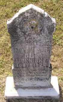MCKNIGHT, MARY A. G. - Lawrence County, Arkansas | MARY A. G. MCKNIGHT - Arkansas Gravestone Photos
