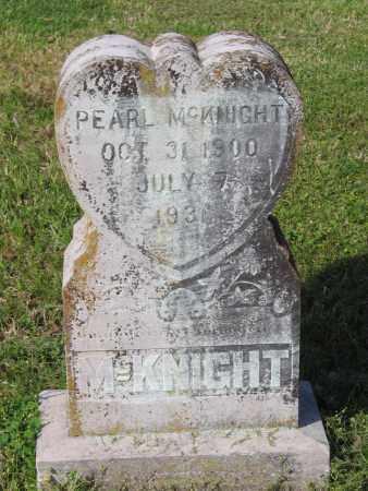 MCKNIGHT, PEARL - Lawrence County, Arkansas   PEARL MCKNIGHT - Arkansas Gravestone Photos