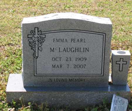 MCLAUGHLIN, EMMA PEARL - Lawrence County, Arkansas   EMMA PEARL MCLAUGHLIN - Arkansas Gravestone Photos