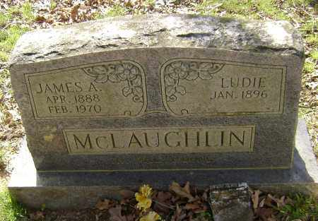 """MCLAUGHLIN, MARY LYDIA """"LUDIE"""" - Lawrence County, Arkansas 