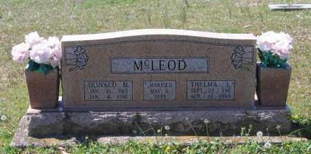 DAVIS MCLEOD, THELMA LORENE - Lawrence County, Arkansas | THELMA LORENE DAVIS MCLEOD - Arkansas Gravestone Photos