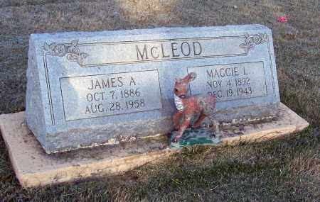 EAST MCLEOD, MAGGIE L. - Lawrence County, Arkansas | MAGGIE L. EAST MCLEOD - Arkansas Gravestone Photos