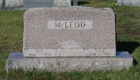 ALEXANDER MCLEOD, MARY ORA - Lawrence County, Arkansas | MARY ORA ALEXANDER MCLEOD - Arkansas Gravestone Photos