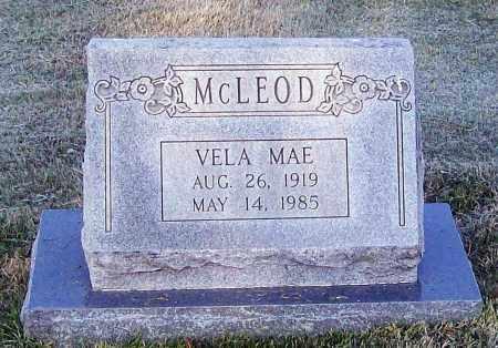 MCLEOD, VELA MAE - Lawrence County, Arkansas | VELA MAE MCLEOD - Arkansas Gravestone Photos