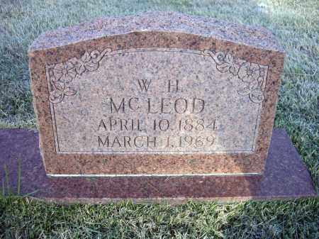 MCLEOD, WILLIAM HENRY - Lawrence County, Arkansas | WILLIAM HENRY MCLEOD - Arkansas Gravestone Photos