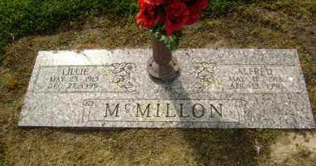 MCMILLON, JAMES ALFRED - Lawrence County, Arkansas | JAMES ALFRED MCMILLON - Arkansas Gravestone Photos