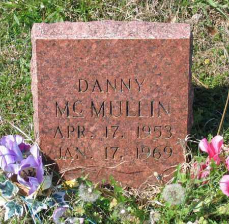 "MCMULLIN, WILLIS DANIEL ""DANNY"" - Lawrence County, Arkansas | WILLIS DANIEL ""DANNY"" MCMULLIN - Arkansas Gravestone Photos"