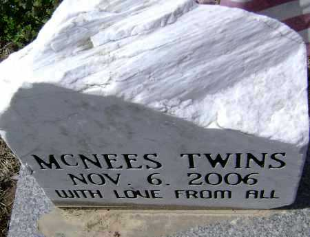 MCNEES, TWINS - Lawrence County, Arkansas | TWINS MCNEES - Arkansas Gravestone Photos