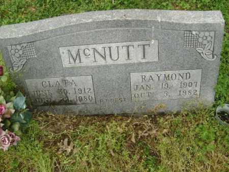 MCNUTT, CLATA - Lawrence County, Arkansas | CLATA MCNUTT - Arkansas Gravestone Photos